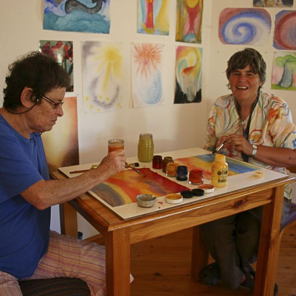 Camphill Village Therapies Painting 02