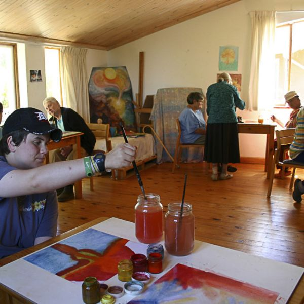 Camphill Village Therapies Painting04