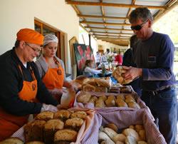 Camphill Market - villagers stall