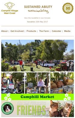 Camphill Village - MAY 2017 Newsletter