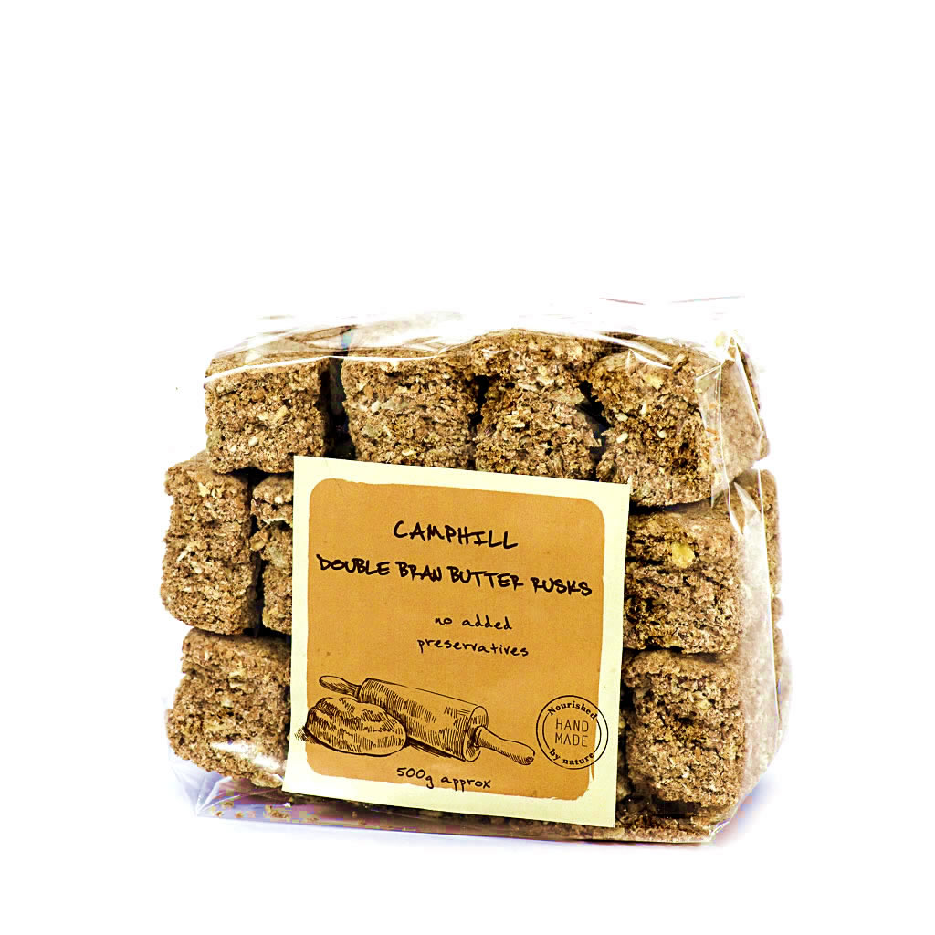 Double Bran Butter Rusks
