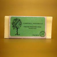 Frankincense-Pine Herbal Soap